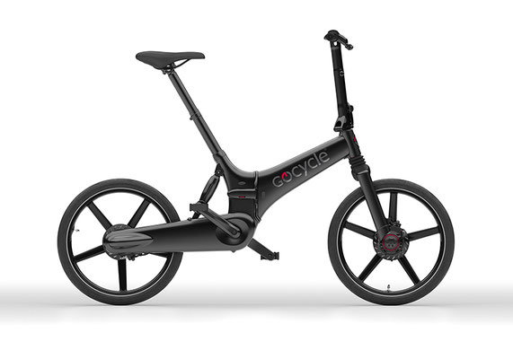 Gocycle GX Klapp e-Bike in schwarz