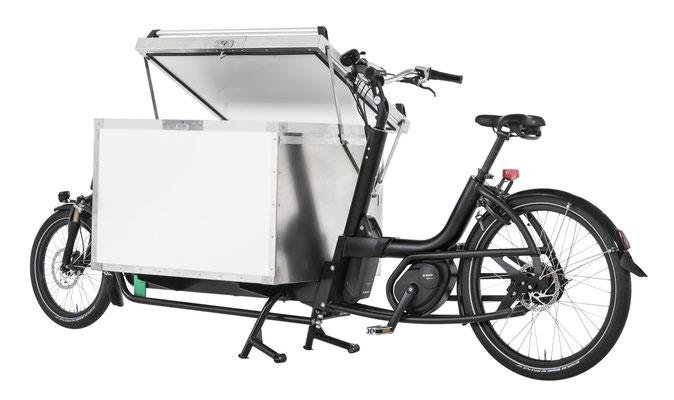 passendes Cargo e-Bike Zubehör zum Urban Arrow Cargo XL, Coolbox weiss, 2019