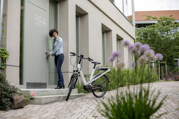 City e-Bikes kostenlos Probefahren in den e-motion e-Bike Shops