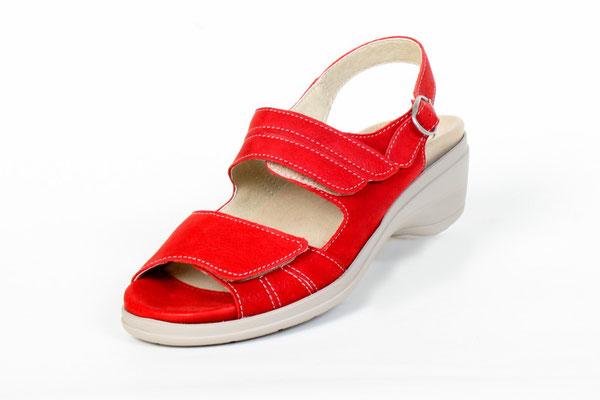 Slowlies Sandaletten, Damen. Produkt-Information: Obermaterial : Echt Leder Futterleder, Rot in den Größen 36,37. Blue in 37 jetzt nur 49,90€