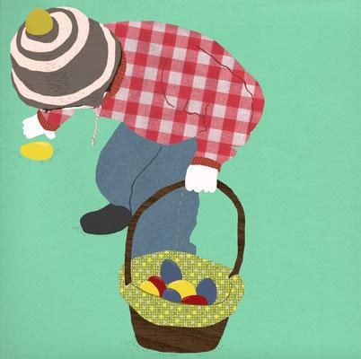 """""""Ostern"""" Illustrationskurs Frankfurter Allgemeine Sonntagszeitung, 2012"""