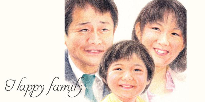 似顔絵オーダー/Famlly