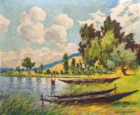 Phöbener Sandberge in Werder/Havel II, nach 1925, Öl Lw., 67 x 80, sign., Museum der Havelländischen Malerkolonie in Schwielowsee-Ferch, WVZ 0156