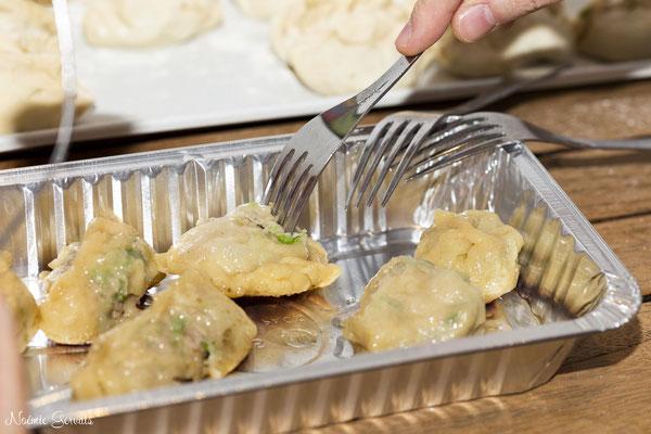 Atelier cuisine gyoza (photo Noémie Gervais) - dégustation