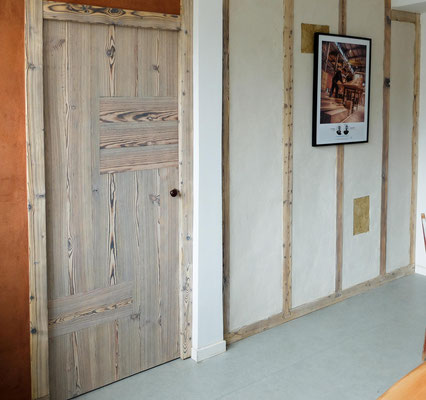 porte bois brulé