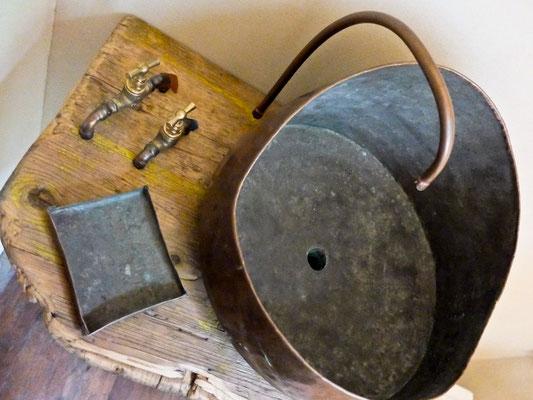 lavabassine cuivre