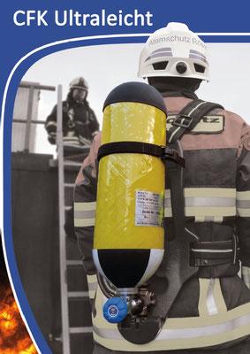 CFK Atemluftflasche 6,8 Liter 300 bar