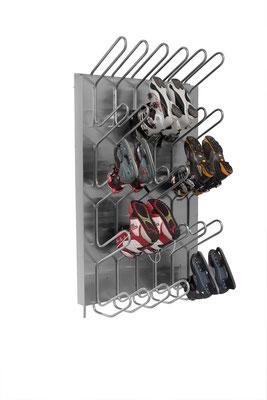 Schuhtrockner für 20 Paar für Warmwasseranschluss