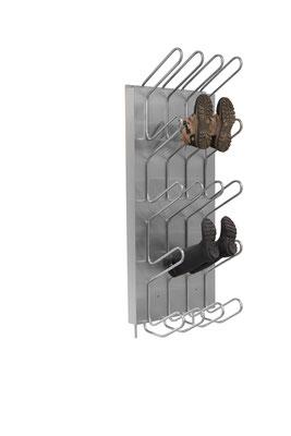 Schuhtrockner für 10 Paar mit Warmwasser