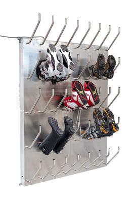 Schuhtrockner für 20 Paar Warmluft