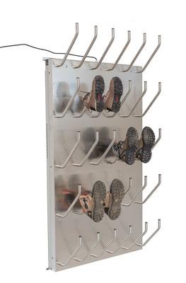 Schuhtrockner für 15 Paar elektrisch