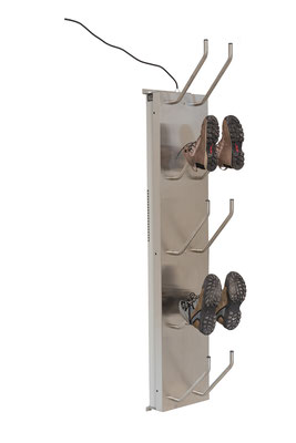 Schuhtrockner für 5 Paar mit Gebläse