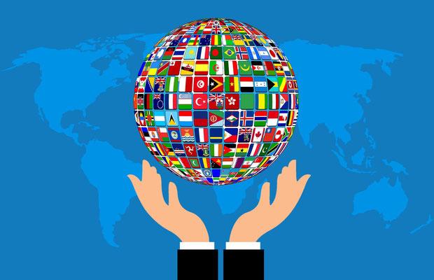 L'ONU qui est regardée comme l'espoir de l'humanité pour résoudre les problèmes du monde est suivie par tous les habitants de la terre.  « (…) Remplie d'admiration, la terre entière suivit alors la bête.»
