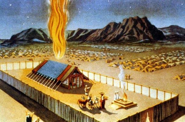 Le Tabernacle représentait la présence de Jéhovah au sein de son peuple. La nuée témoignait de la présence et de la puissance de Dieu au sein de son peuple.
