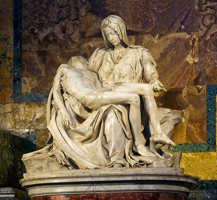 Vatican - La Piéta de Michelange