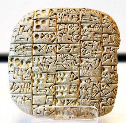 Des dizaines de milliers de tablettes et inscriptions en écriture cunéiforme ont été exhumées par les archéologues sur les sites de l'ancienne Mésopotamie. Ces tablettes sont, pour la plupart, des textes économiques et administratifs.