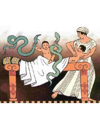 De nombreux peuples ont leur propre légende concernant l'existence d'hybrides aux actes héroïques mi-dieu mi-homme nés de liaisons entre les dieux et les femmes, faisant ainsi référence aux Néphilims nés de l'union de femmes et d'anges déchus. Hercule.