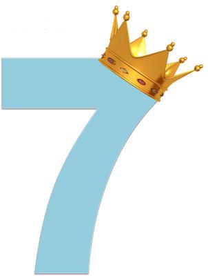 Dans la Bible, le nombre 7 est lié à la sainteté de Jéhovah, à ses prophéties, à ses miracles. Il décrit généralement un évènement total et important. Le nombre 7 évoque la plénitude, la perfection, la puissance, la totalité, la gloire.