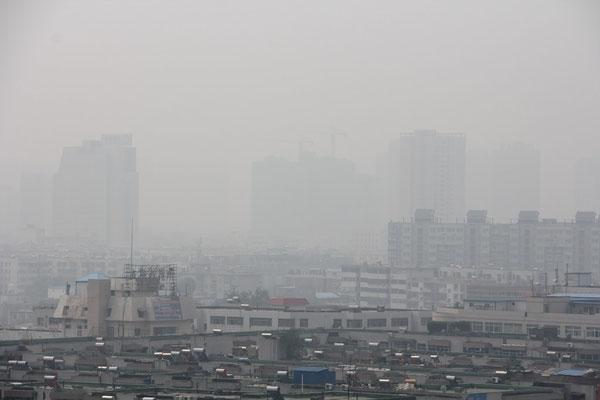 La pollution de l'air de notre planète Dieu viendra saccager détruire ceux qui saccagent la terre apocalypse