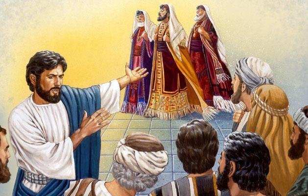 Loin de la représentation de Jésus sous des traits enfantins, efféminés, avec l'air timoré et bonasse, Jésus, notre créateur possède une puissance incommensurable, il a dénoncé avec beaucoup de franchise l'hypocrisie religieuse et défendu les plus faibles
