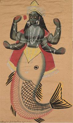 Après la confusion des langages, chaque groupe linguistique part de son côté en emportant avec eux les mêmes bases religieuses, comme la légende d'un déluge, Matsya, le poisson, premier avatar de Vishnu en Inde.