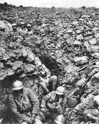 L'enfer des soldats dans les tranchées de la première guerre mondiale. Prophétie de Daniel.