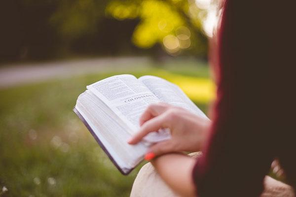 Approfondissons les Saintes Écritures qui apportent un enseignement puissant et qui affermissent notre foi en Dieu et en son dessein. Prendre plaisir à étudier la parole de Dieu, est aussi une forme de respect et d'adoration envers notre créateur.