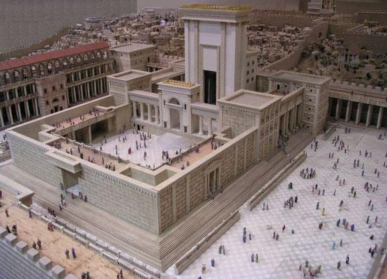 Jérusalem et son Temple subiront une deuxième destruction totale en l'an 70 par les armées romaines de Titus ainsi que l'avait prophétisé Jésus lui-même.