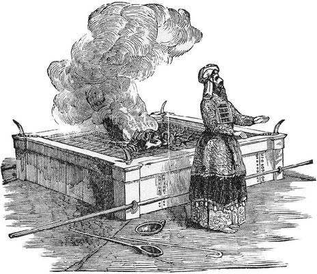 Les Israélites offraient régulièrement des sacrifices à Jéhovah pour le pardon de leurs fautes. Le livre du lévitique explique aux Israélites comment procéder pour les sacrifices d'animaux. Le feu jouait un rôle important dans le rituel.