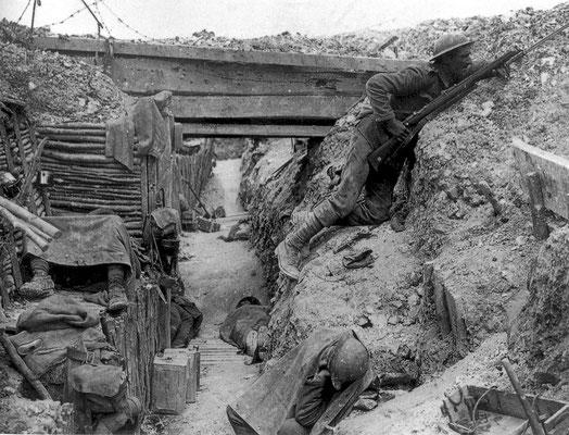 Des soldats britanniques, australiens, canadiens, néo-zélandais, sont venus se battre en France pendant la première guerre mondiale. Prophétie de Daniel.
