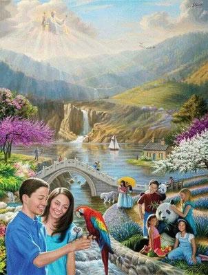 Ils pousseront des cris de joie sur la hauteur de Sion et deviendront radieux au sujet de la bonté de Jéhovah. Alors les jeunes filles danseront de joie, jeunes et vieux se réjouiront ensemble. Je changerai leur deuil en fête, je les consolerai.