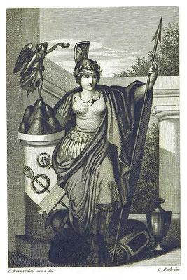De son vivant, Auguste (27 av J-C-14 ap J-C) refuse d'être divinisé, il le sera à titre posthume. Mais il tient à ce qu'on adore Dea Roma, la déesse personnifiant Rome.