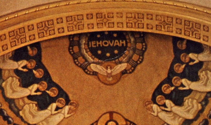 Basilique saint Martin Olten Suisse - Jéhovah - le Nom divin