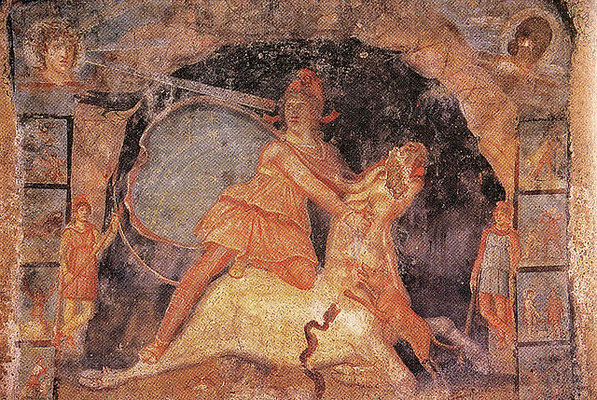 L'empire romain a adopté le dieu perse Mithra qui a été associé à Jésus et dont l'anniversaire était le 25 décembre.