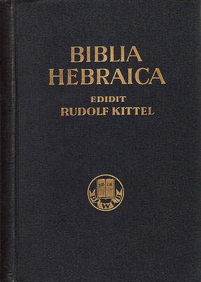 BHK Biblia Hebraica Kittel éditée en 1937 à partir du codex de Leningrad - vendu à la communauté caraïte de Damas en 1489. Puis le manuscrit réapparaît 400 ans plus tard entre les mains du célèbre marchand juif Abraham Firkovich, Caraïte russe.