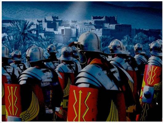 Jésus-Christ a prophétisé la destruction de Jérusalem. Des jours viendront pour toi où tes ennemis t'entoureront d'ouvrages fortifiés, t'encercleront ». Lorsque vous verrez Jérusalem encerclée par des armées, sachez que sa destruction est proche.