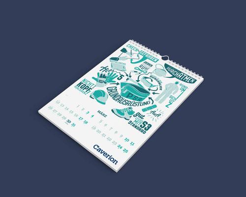 Caverion Kalender 2018 wird sicher gut