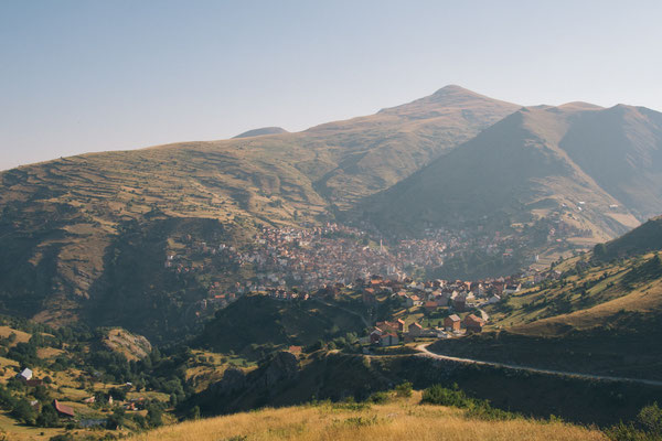 A view over Restelicë in southern Kosovo