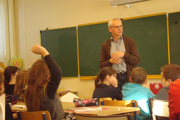 Jérôme Bucy rencontre les classes de CE2 et CM1,2  de MAREUIL vendredi 9 décembre à 10h30