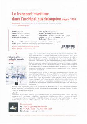 Le transport maritime dans l'archipel Guadeloupéen depuis 1930 par Roger JAFFRAY_ Notice page 1