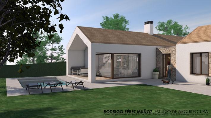Vivienda unifamiliar en Alpedrete. Rodrigo Perez Muñoz Arquitecto.