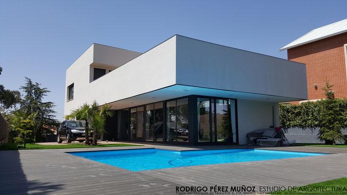 Proyecto de vivienda unifamiliar en Torrelodones. Rodrigo Pérez Muñoz Arquitecto.