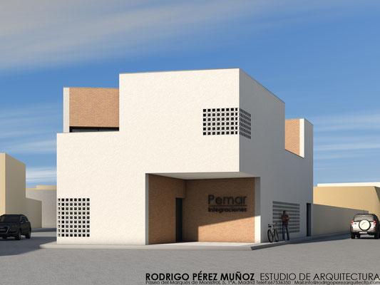 Edificio de oficinas, Rodrigo Perez Muñoz Arquitecto