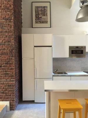 Cambio de uso de local a vivienda. Rodrigo Perez Arquitecto.