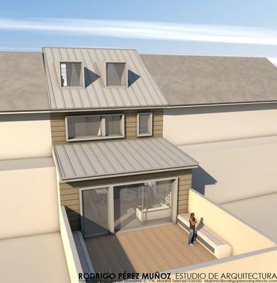 Proyecto de vivienda unifamiliar, Rodrigo Pérez Muñoz Arquitecto