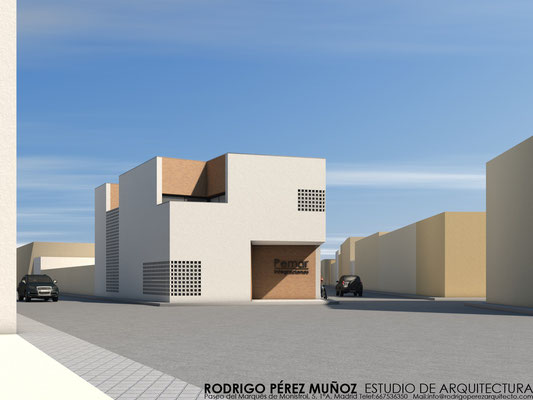 Edificio de oficinas, Rodrigo Pérez Muñoz Arquitecto