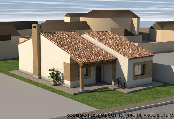 Vivienda unifamiliar en Cardiel de los Montes, Rodrigo Perez Muñoz Arquitecto.