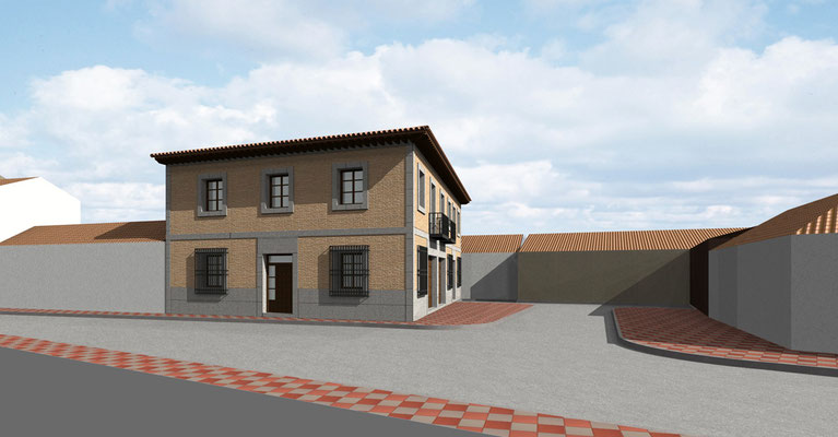 Proyecto de dos viviendas Rodrigo Perez Arquitecto.