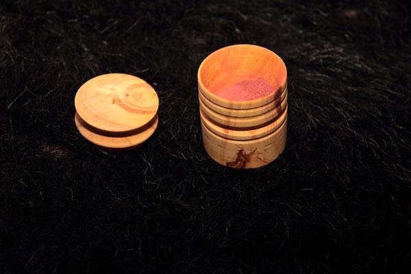 buis contenant des pigments