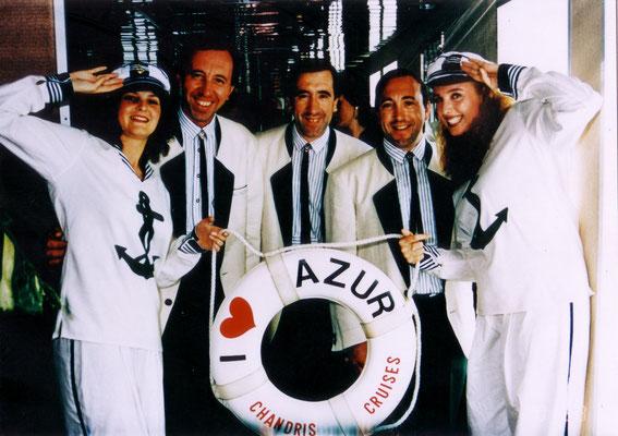 Auf Kreuzfahrt mit über 800 Stoani-Fans auf der MS The Azur!